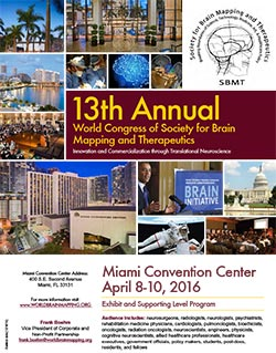 13th Annual World Congress for Brain Mapping and Therapeutics