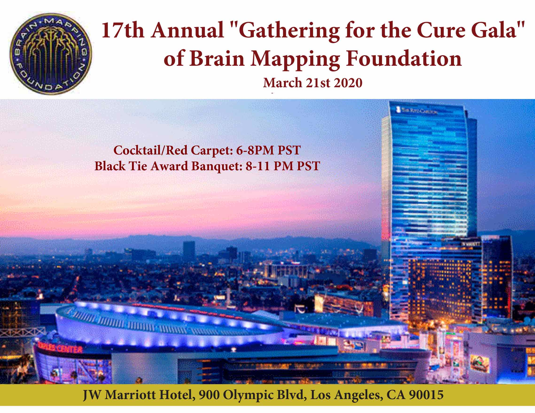 Brain Mapping Foundation Gala 2019